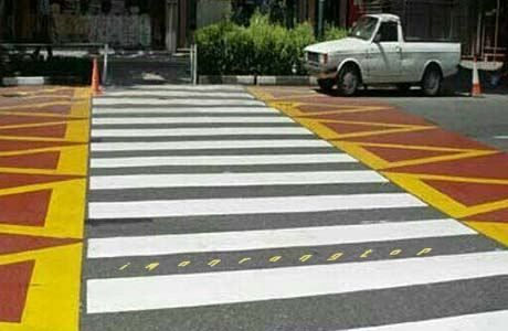 رنگ ترافیکی درجه یک