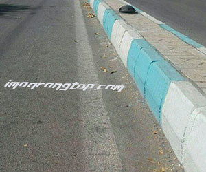 رنگ برای جداول خیابان